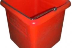 20L SINGLE SQUARE PLASTIC BUCKET