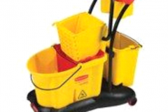 33LT MOPPING TROLLEY WITH WRINGER, CADDY AND AC