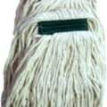 400g COLOUR CODED FAN MOP HEAD SMALL BAND